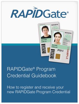 RAPIDGate Registration Guidebook